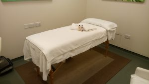 Battersea acupuncture treatment room